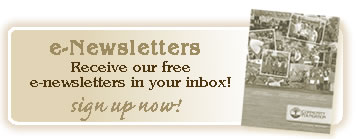 Sign up for our e - newsletter!